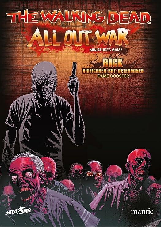 2 Tomatoes Games-5060469660929-0 Booster Rick, desfigurado Pero Determinado - The Walking Dead: All out War (Oleada 4), Multicolor (5060469660929): Amazon.es: Juguetes y juegos