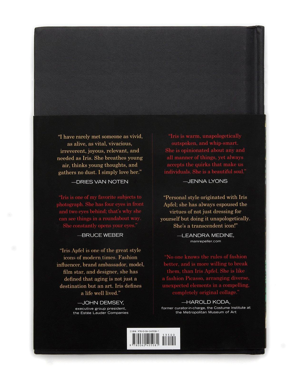 Iris Apfel Accidental Icon 9780062405081 Amazon Books