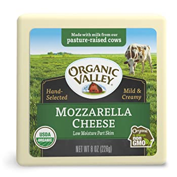 Organic Valley USDA Certified Mozzarella Cheese