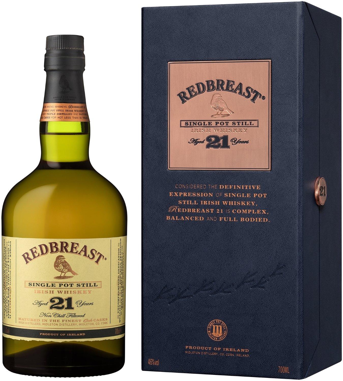 レッドブレスト 21年 シングルポットスチル [ ウイスキー アイルランド 700ml ] [ギフトBox入り] B00IXL9ESW