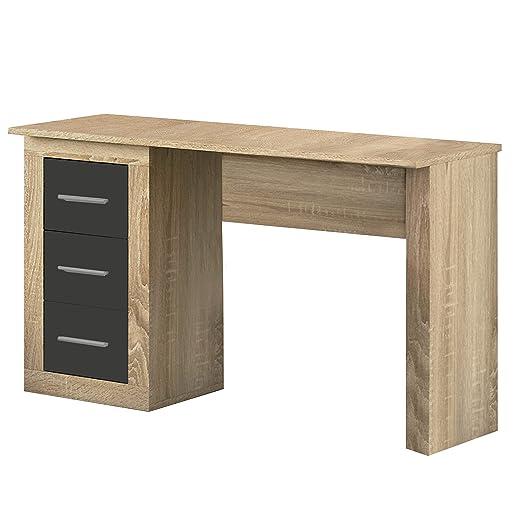 duehome HomeSouth - Mesa Escritorio 3 cajones, Mesa de despacho ...