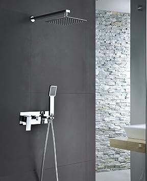 Conjunto de ducha empotrado Noruega Imex: Amazon.es ...