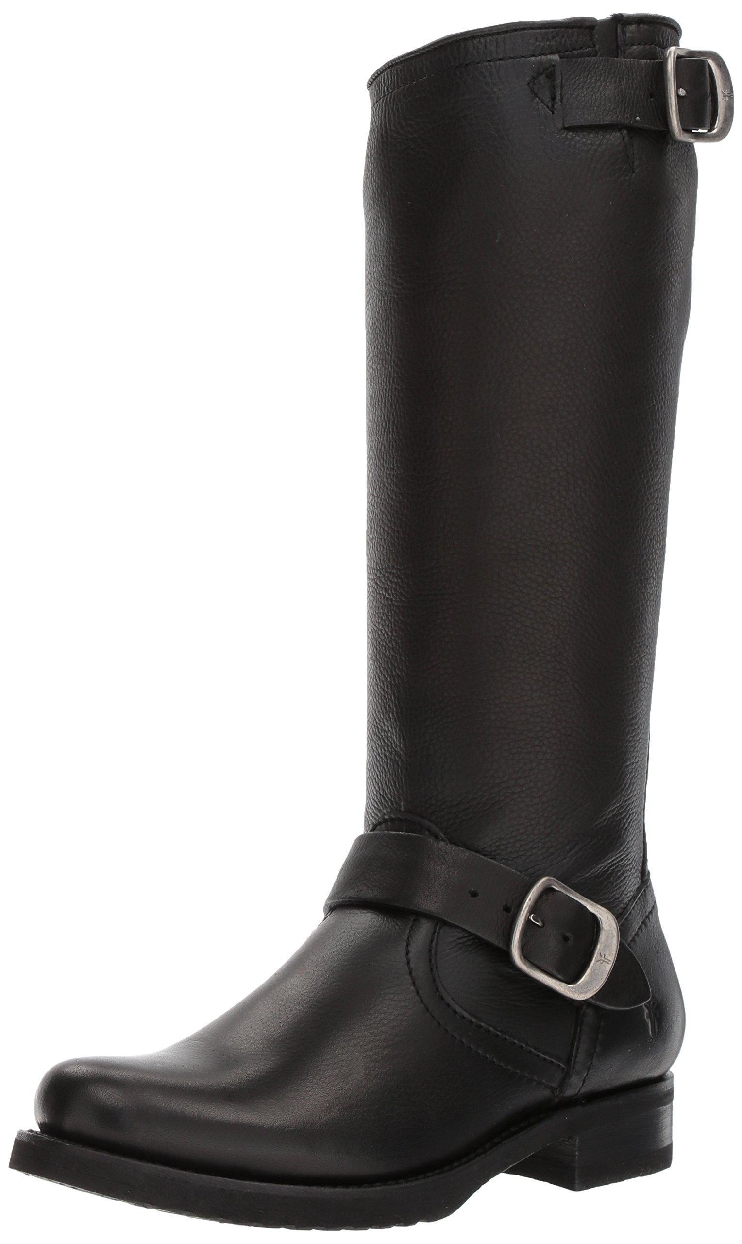 FRYE Women's Veronica 2 Slouch Boot, Black, 9 M US