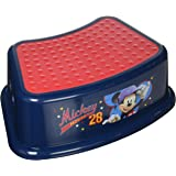 "Disney Mickey Mouse""All Star"" Step Stool, Blue"
