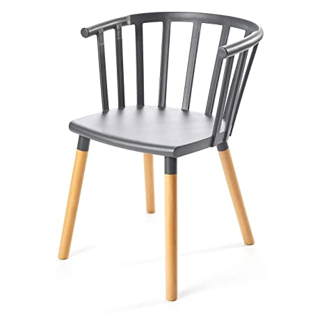 Kvell Kaptain Dining Chair, Modest Grey