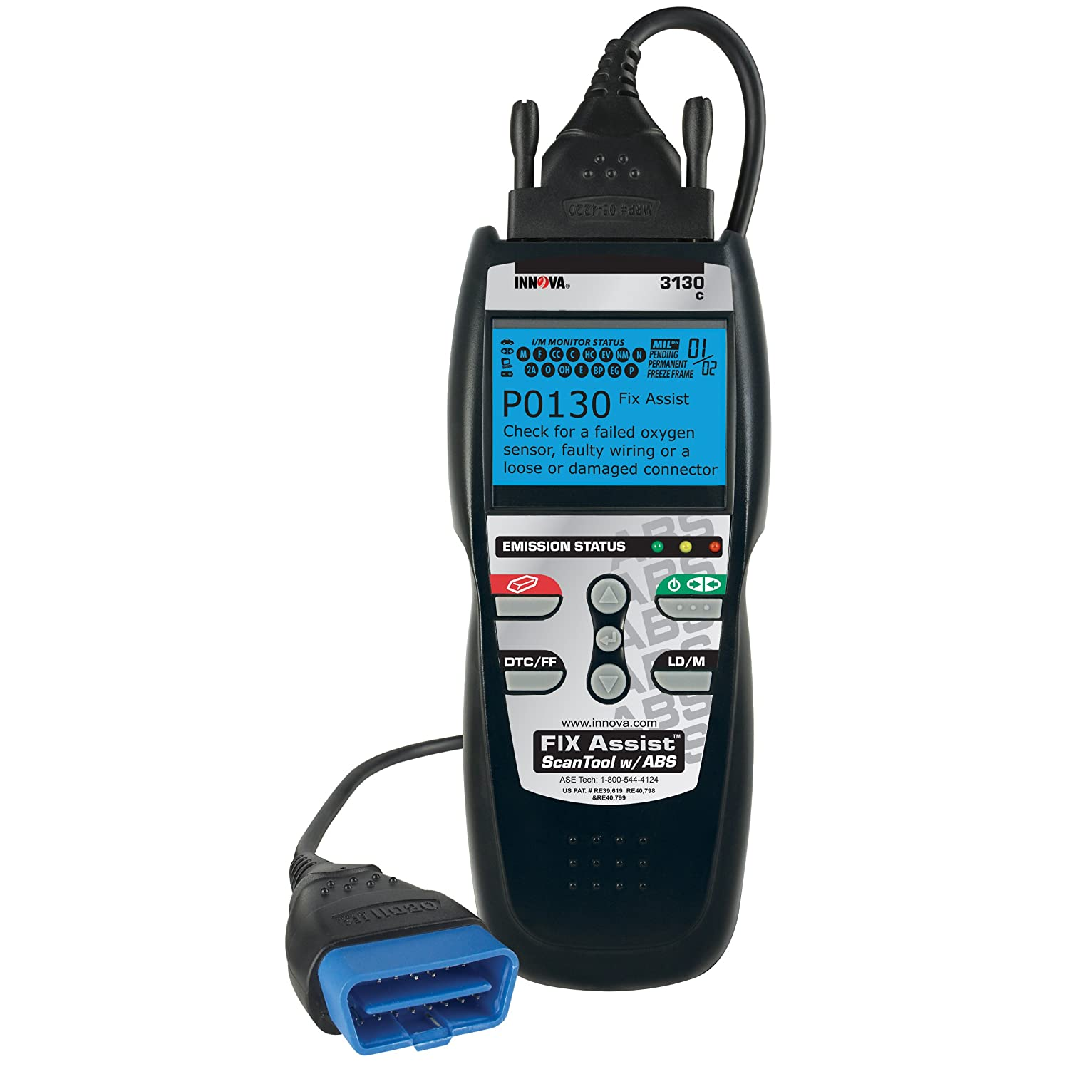 Amazon com innova 3130c diagnostic scan tool code reader with fix assist for obd2 vehicles automotive
