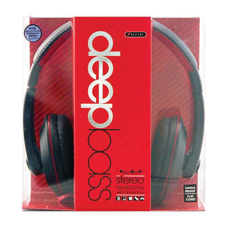 818EZb1kRBL._SL1500_ amazon com sentry industries hm964 deep bass stereo headphones  at gsmx.co