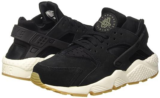 pretty nice 43f7d 65896 Nike Air Huarache Run SD, Chaussures de Gymnastique Femme, Noir (Black Deep  Greensailgum