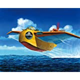 Conan il Ragazzo del Futuro Model Kit Di Montaggio Numero 02 Scala 1/72 Falco Originale Aoshima GIA' COLORATO!!