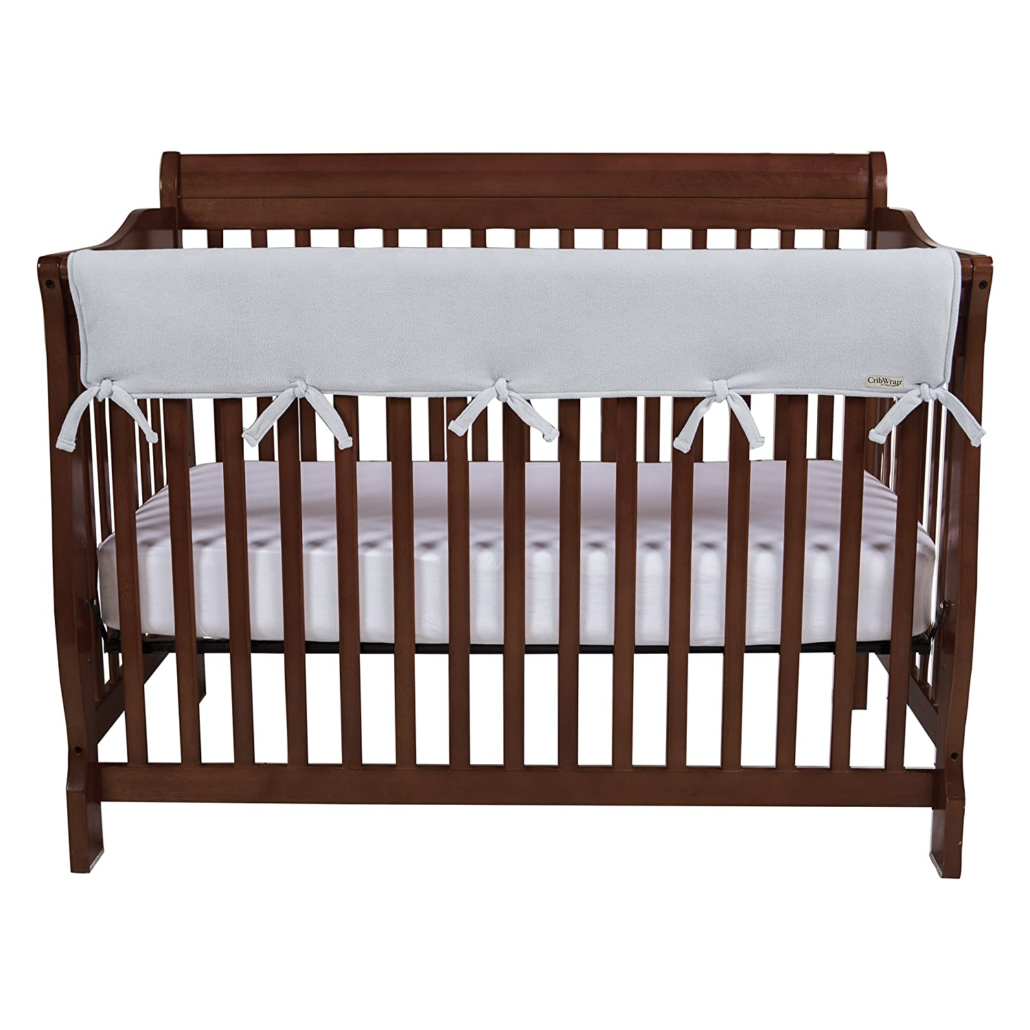 For Wide Long Crib Rails Made to Fit Rails up to 18 Around Trend Lab Waterproof CribWrap Rail Cover