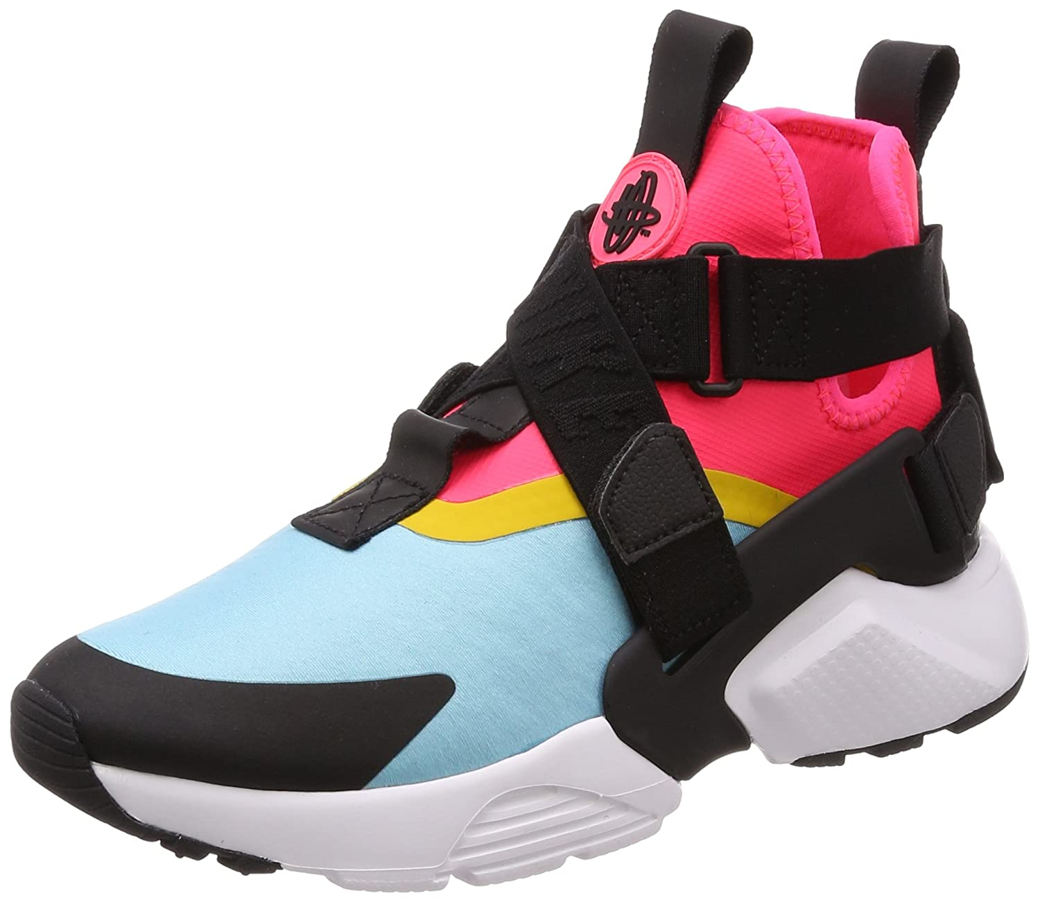 fd857427038 Nike Womens Air Huarache City Shoe (9 M US, Bleached Aqua/Black ...