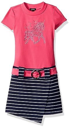 ee4a62d35 Amazon.com: ZUNIE Girls' Little Shortsleeve Unicorn Marsha Dress ...