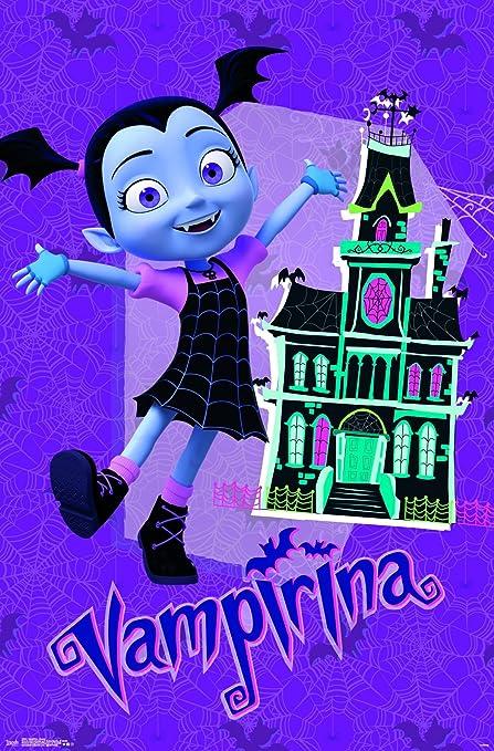 Amazon Com Trends International Vampirina House Wall Poster 22 375