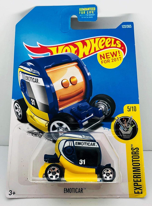 122//365 Hot Wheels 50th Anniversary Experimotors Emoticar 5//10 Blue