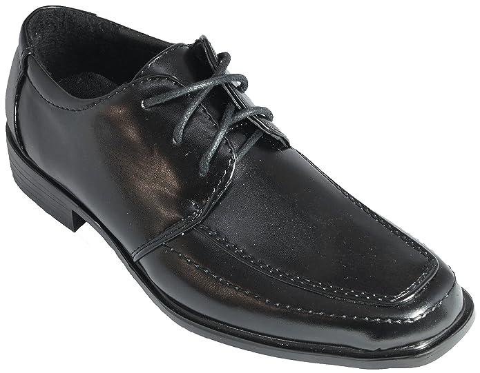 c2bab56ed99cd5 Festliche Jungen Anzug Schuhe Kinder Halbschuhe schwarz  Amazon.de  Schuhe    Handtaschen