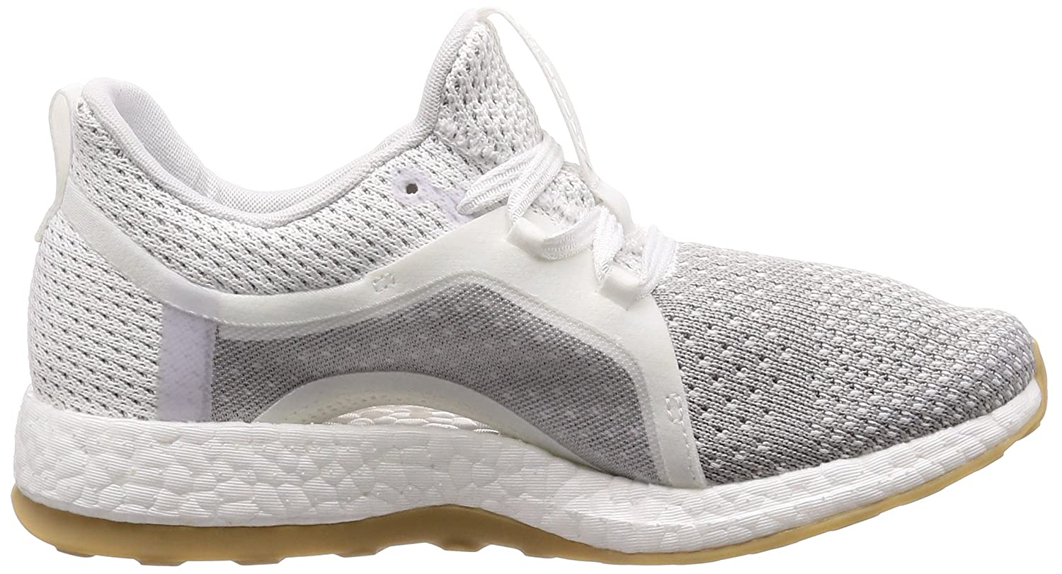 low priced e5f42 52df1 Adidas Womens Pureboost X Clima FtwwhtSilvmtGretwo Running Shoes-5  UKIndia (38 EU) (BB6089) Amazon.in Shoes  Handbags