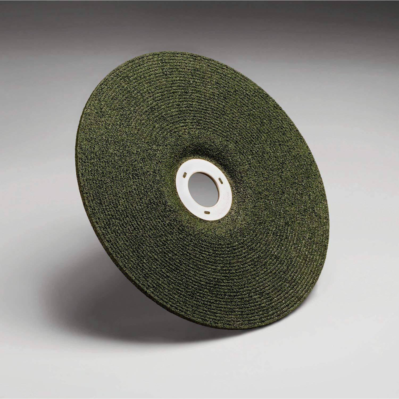 Pack of 20 TM Ceramic Aluminum Oxide 7//8 Center Hole Diameter Cutting//Grinding Wheel 8500 rpm 7 Diameter x 1//8 Thick 36 Grit Green Corps Green TM 3M