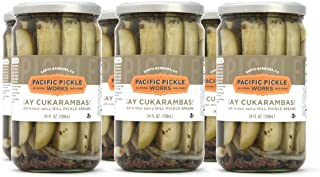 product image for Ay Cukarambas (6-pack) - Semi-spicy pickle spears 24oz jar