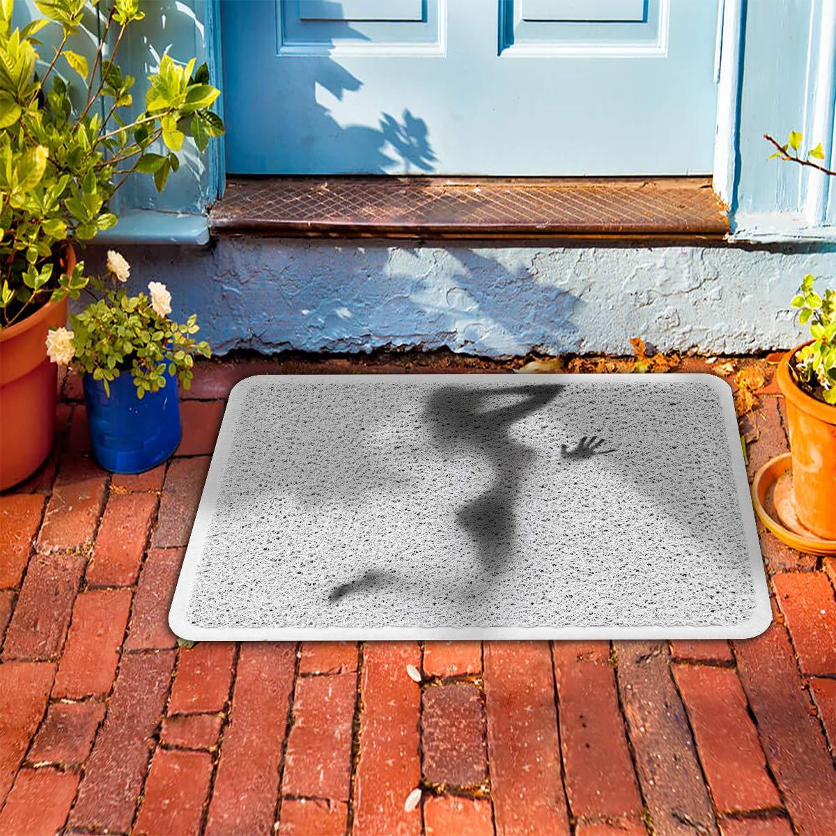 Amazon.com: Felpudo de PVC para interior y exterior, diseño ...