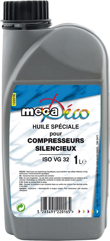 Mecafer 122016 Öl Für Silent Kompressoren Iso Vg 32 1 L Baumarkt