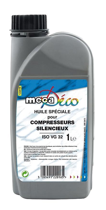 Mecafer 122016 - Aceite para compresores silenciosos (ISO VG 32, 1 L)