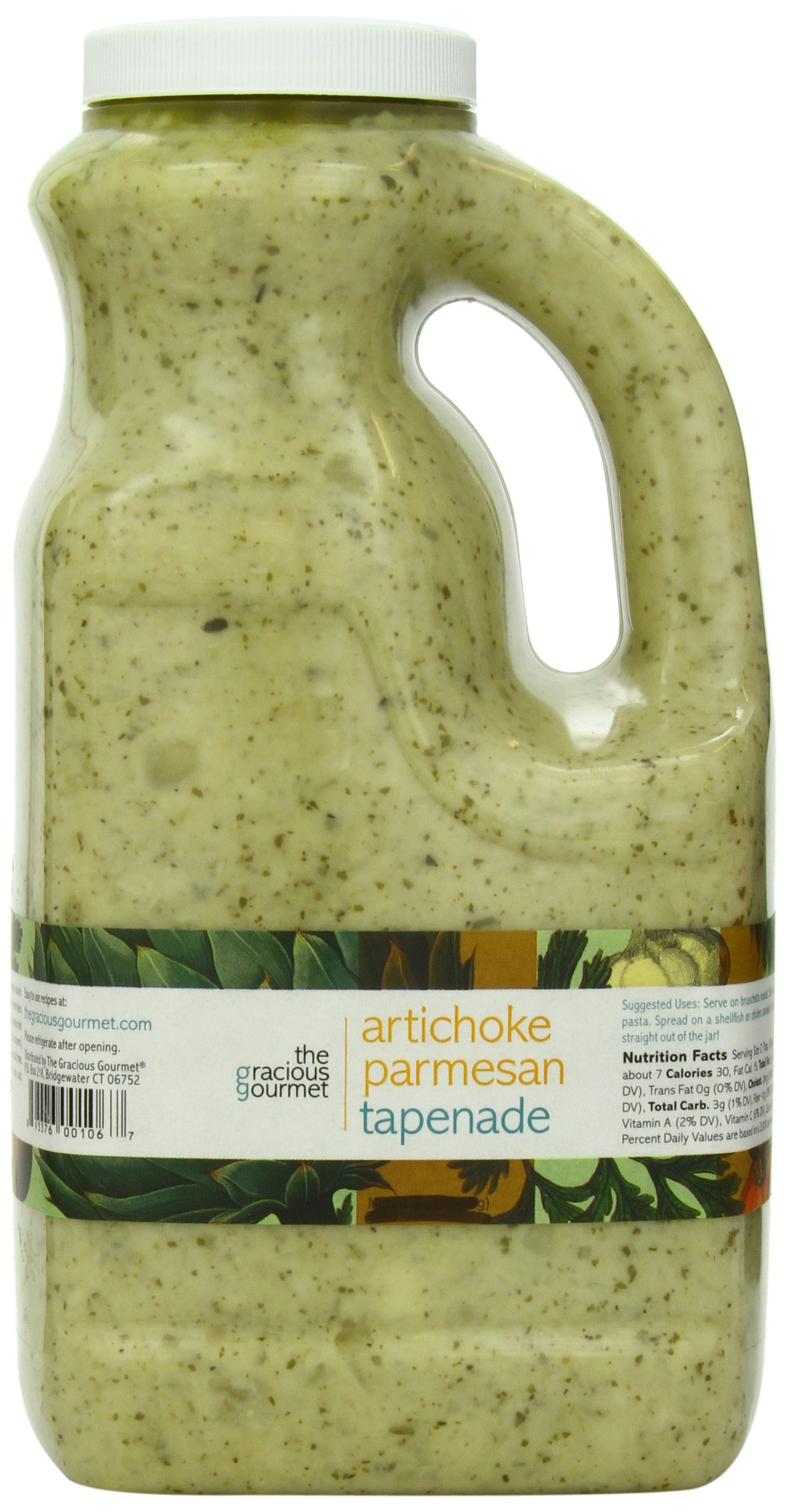 The Gracious Gourmet Artichoke Parmesan Tapenade, 76-Ounce by The Gracious Gourmet (Image #1)