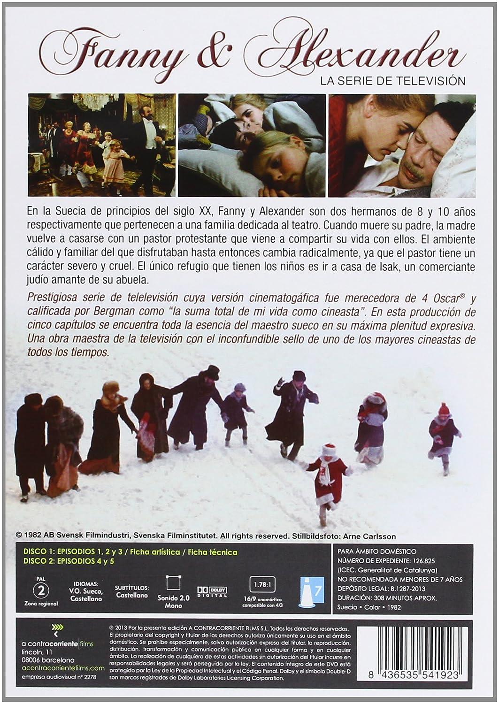 Fanny & Alexander [DVD]: Amazon.es: Pernilla Allwin, Bertil Guve, Borje Ahlstedt, Ingmar Bergman, Jörn Donner: Cine y Series TV
