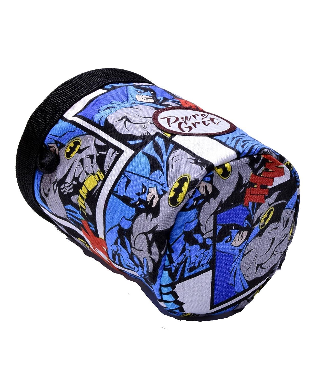 Amazon.com: Pure Grit - Bolsa de tiza de Batman para niños ...