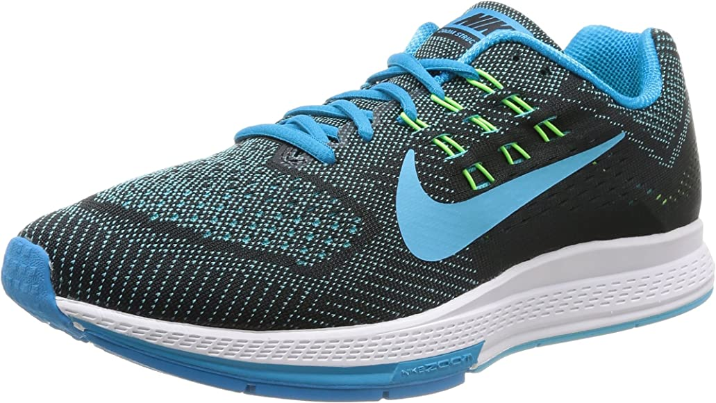 dab6fe1e535d9 Nike Air Zoom Structure 18 Mens Blue Lagoon/Clrwtr-Blk-Flsh Running Shoe