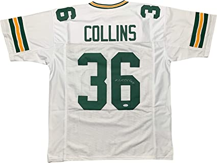 Nick Collins autographed signed jersey NFL Green Bay Packers PSA ...