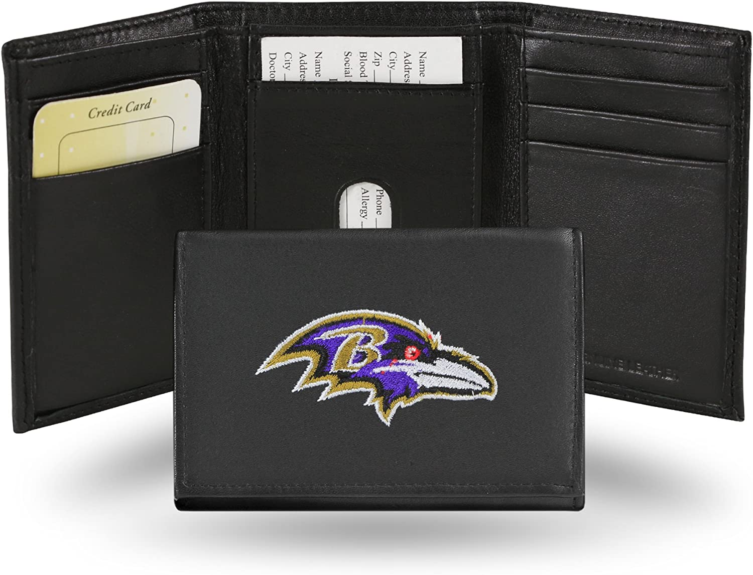 Baltimore Ravens Nylon Wallet