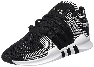 official photos 5dc25 681d7 adidas EQT Support ADV Primeknit, Baskets Basses Homme, Noir Core Black Footwear  White