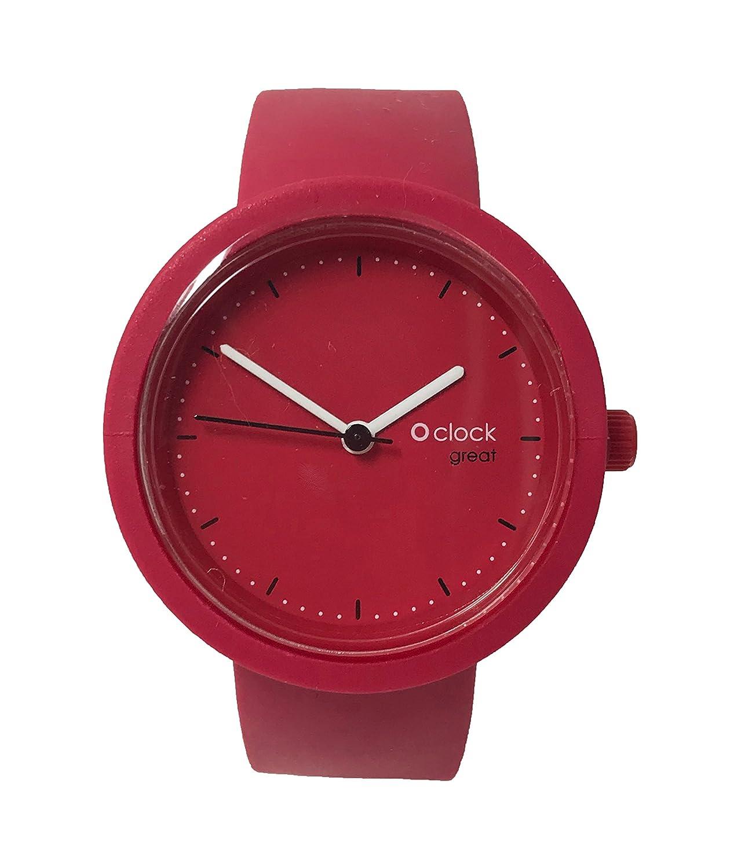 O clock Great correa fresa + Mecanismo o Great Amaranto L fresa: Amazon.es: Relojes