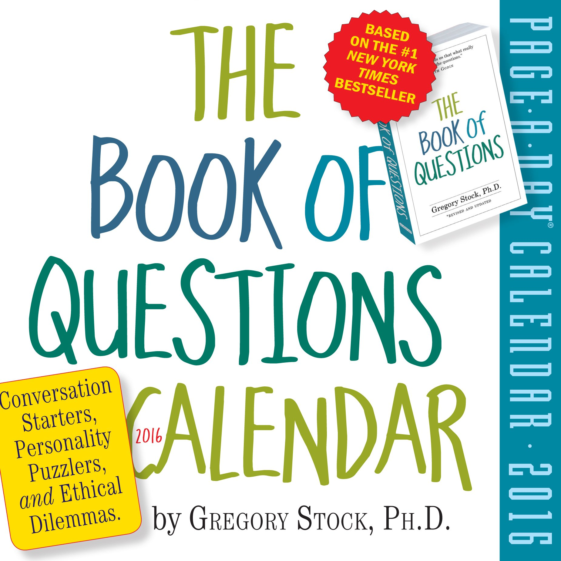 Book Questions Page Day Calendar product image