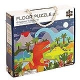 Petit Collage Floor Puzzle, Dinosaur Kingdom, 24