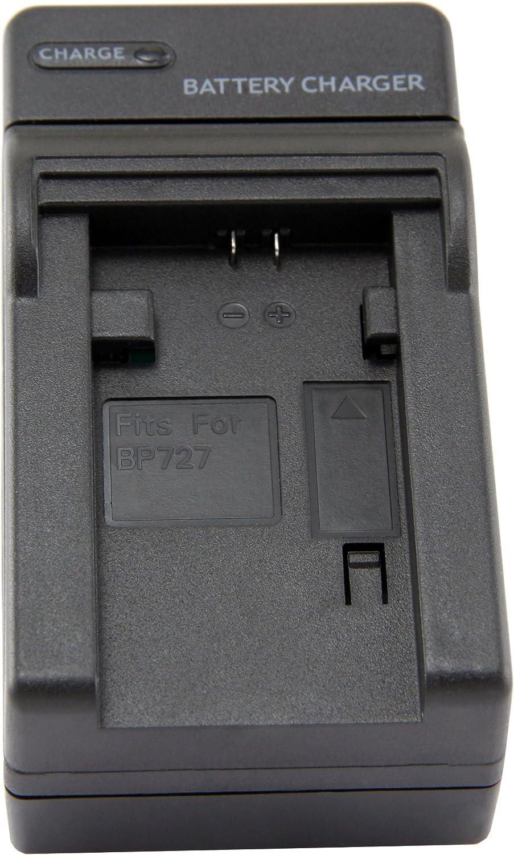 CG-700 STKs Canon BP-727 Battery Charger HF R42 BP-718 for BP-709 HF M506 HF R400 HF R32 HF M52 HF R38 HF M56 HF R30 HF M500 BP-727 batteries and Canon Vixia HF R300 Canon Legria HF M52 HF R40 HF R36
