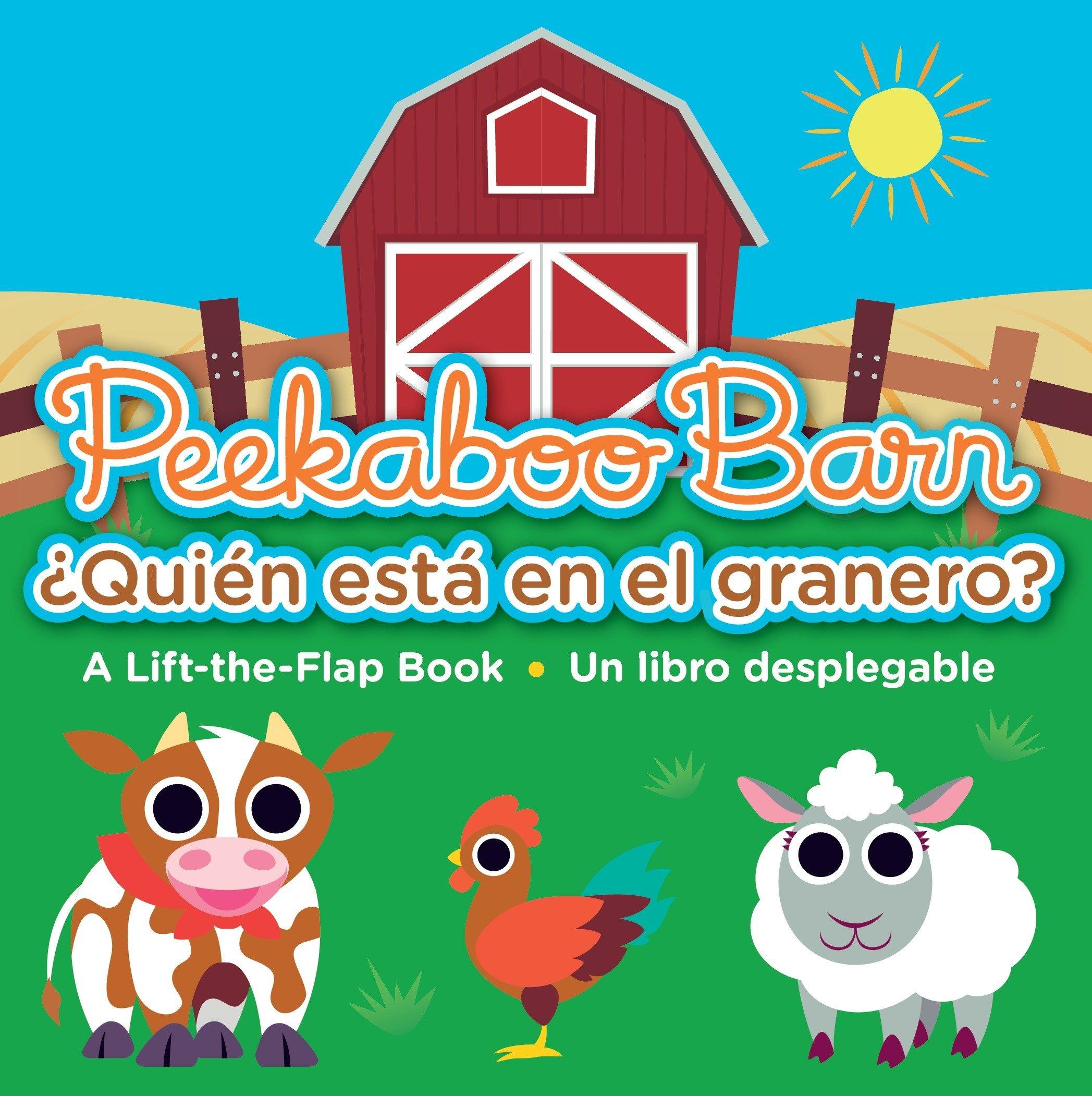 Peekaboo Barn / ¿Quién está en el granero? (Spanish Edition): Nat Sims,  Nathan Tabor: 9780763693152: Amazon.com: Books