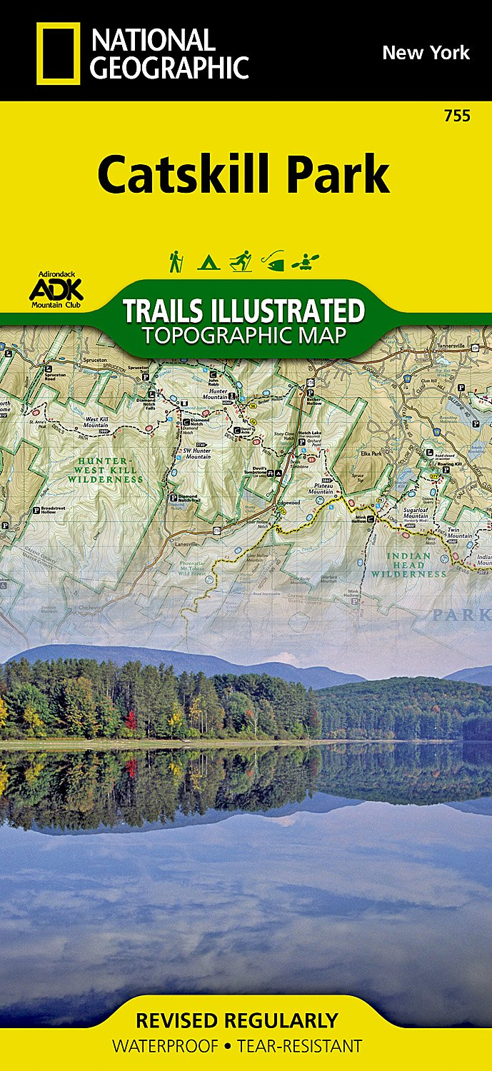 Catskill Park (National Geographic Trails Illustrated Map): National on