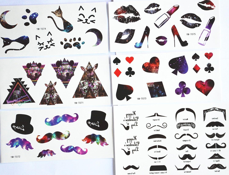 5pcs/paquete diseños diferentes, incluye/de labios pintalabios ...