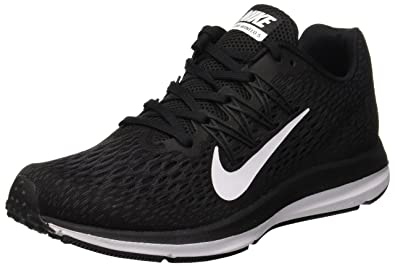 wholesale dealer 69989 b944d Nike Women s WMNS Zoom Winflo 5 Competition Running Shoes,  (Black White Anthracite