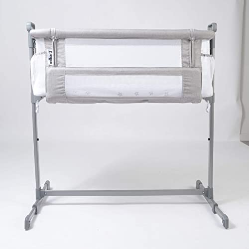 Milliard Bedside Bassinet Mesh Breathable Side Sleeper Portable Infant Crib