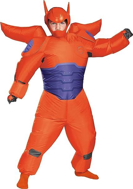 Amazon.com: Big Hero 6: Rojo Baymax hinchable disfraz para ...