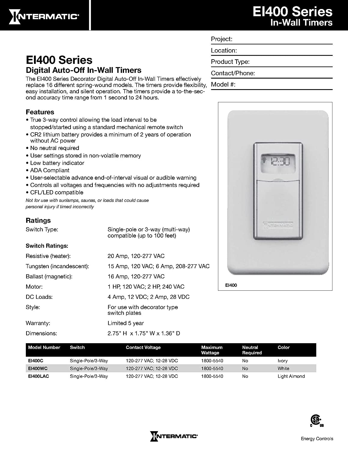 818Es8xP1AL._SL1500_ amazon com intermatic ei400wc programmable electronic countdown  at gsmportal.co