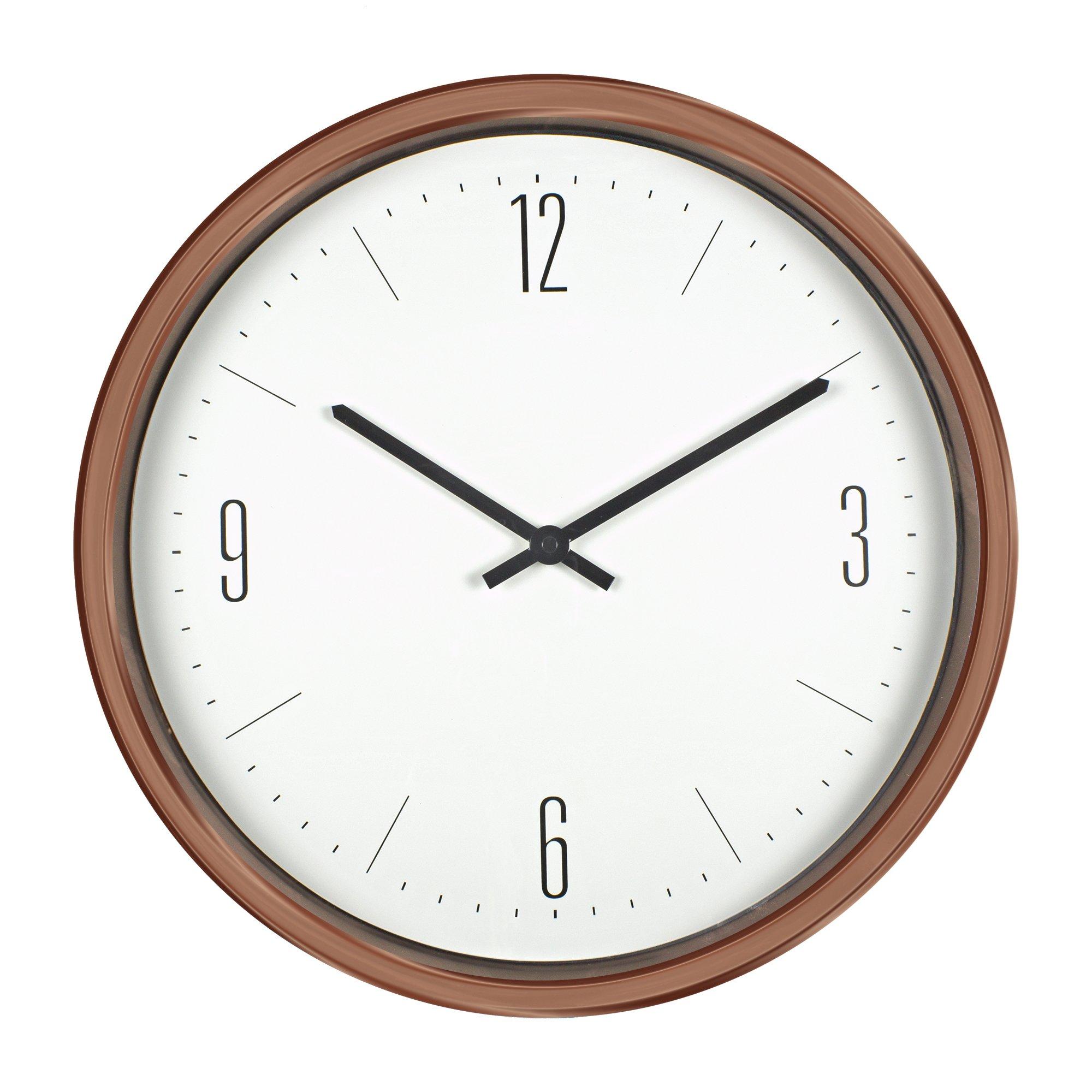 Poolmaster 52542 16'' Bronze Contemporary Clock
