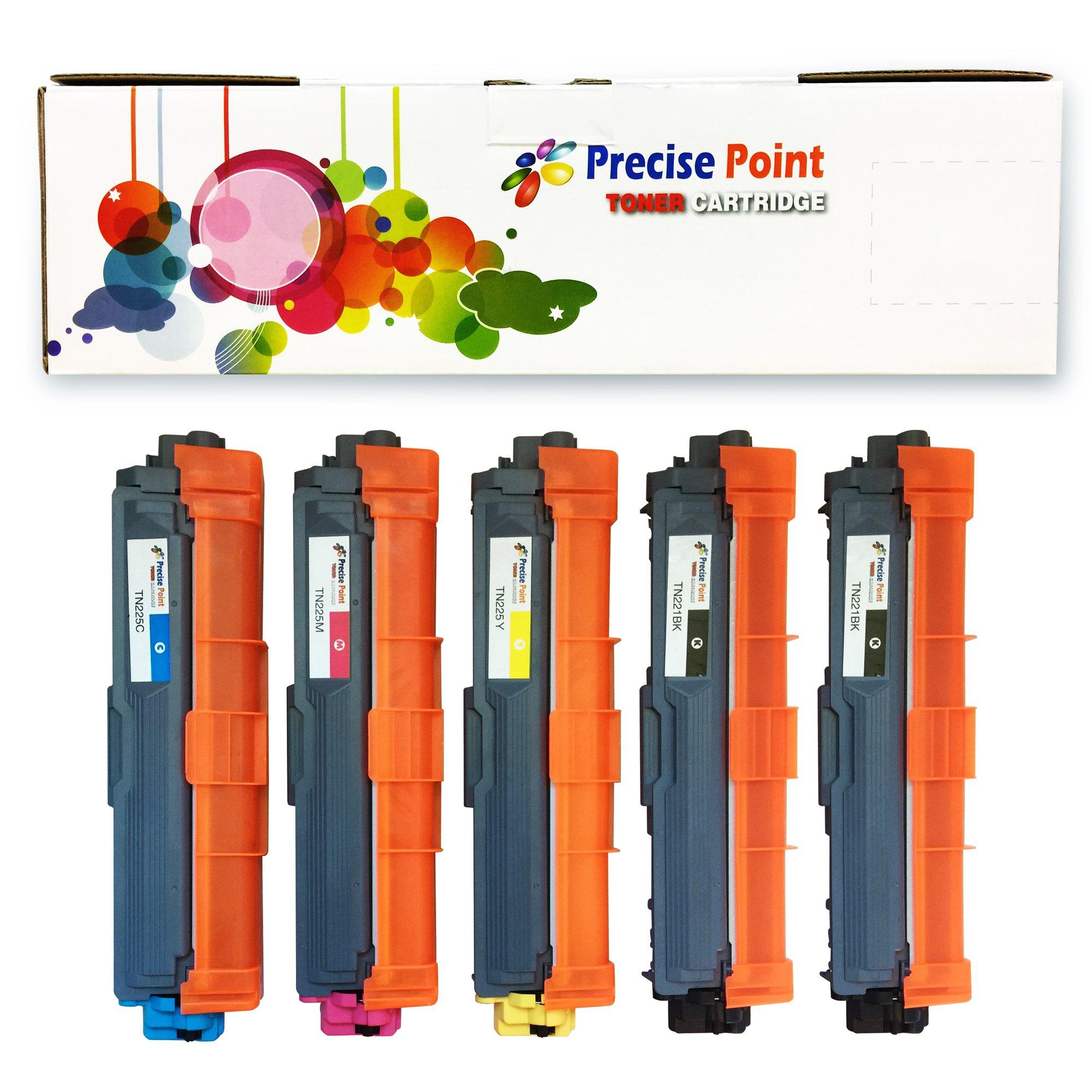 Toner Alternativo ( X5 ) 4 Colores Precise Point TN221 TN225 B / C / M / Y 2