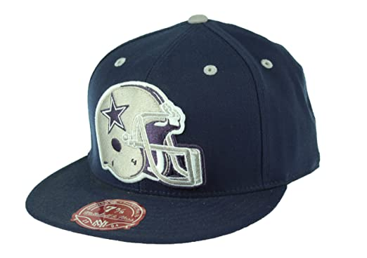 Dallas Cowboys NFL Throwback Cowboys Helmet Logo Fitted Cap d7b23eeabfb