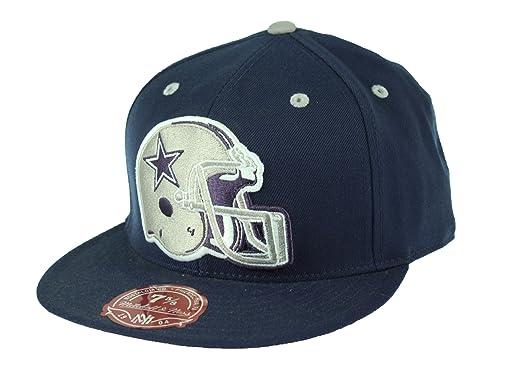 Dallas Cowboys NFL Throwback Cowboys Helmet Logo Fitted Cap a6212fee7