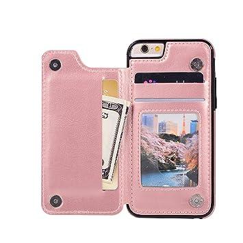 d061b196ee Amazon | 背面手帳型ケース iPhone6s/6 ローズゴールド | ケース・カバー ...