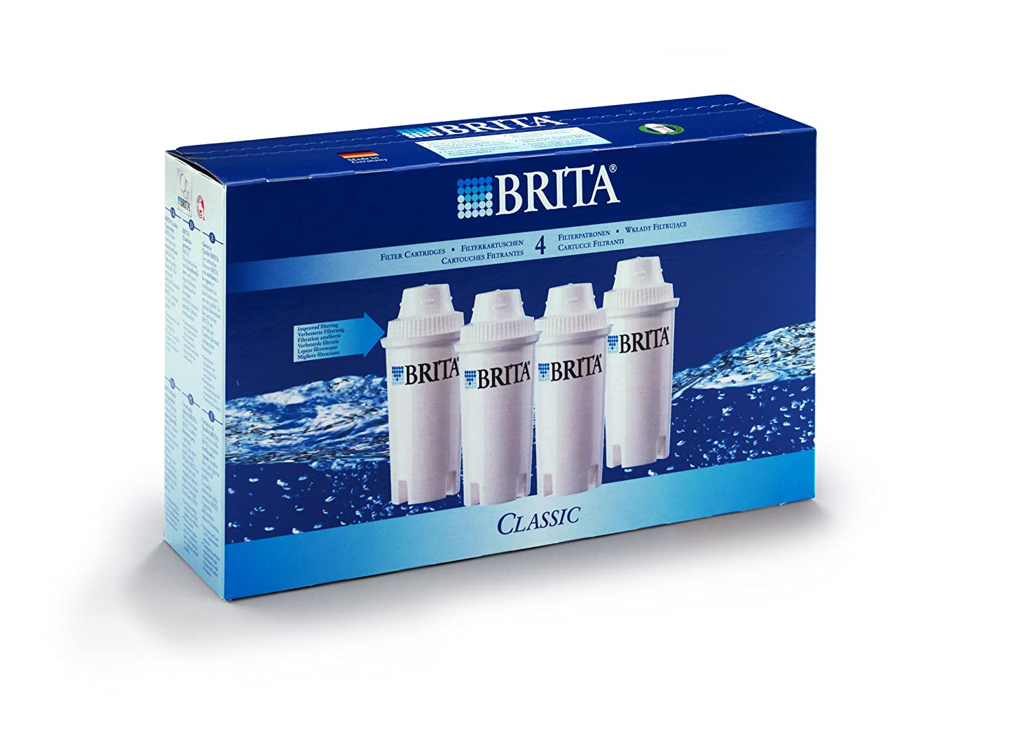 BRITA Classic Water Filter Cartridges - 3 Pack S1231 Water Heaters kettles kitchen appliances