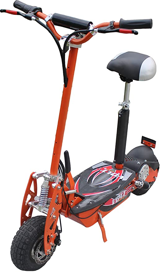 Patinete eléctrico, 36 V, 800 W, ruedas grandes, color ...